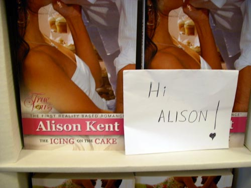 The Icing on the Cake by Alison Kent