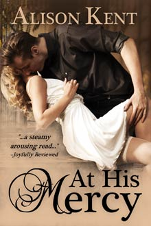 At His Mercy by Alison Kent, an erotic romance short story